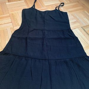 H&M Dresses - H&M Black Linen Dress